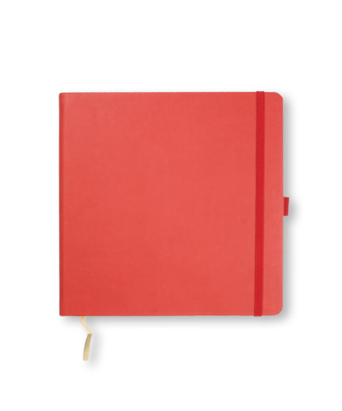 Castelli Coral Red Square Tucson notebook