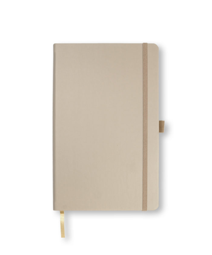 A5 Taupe Castelli Tucson hardback notebook