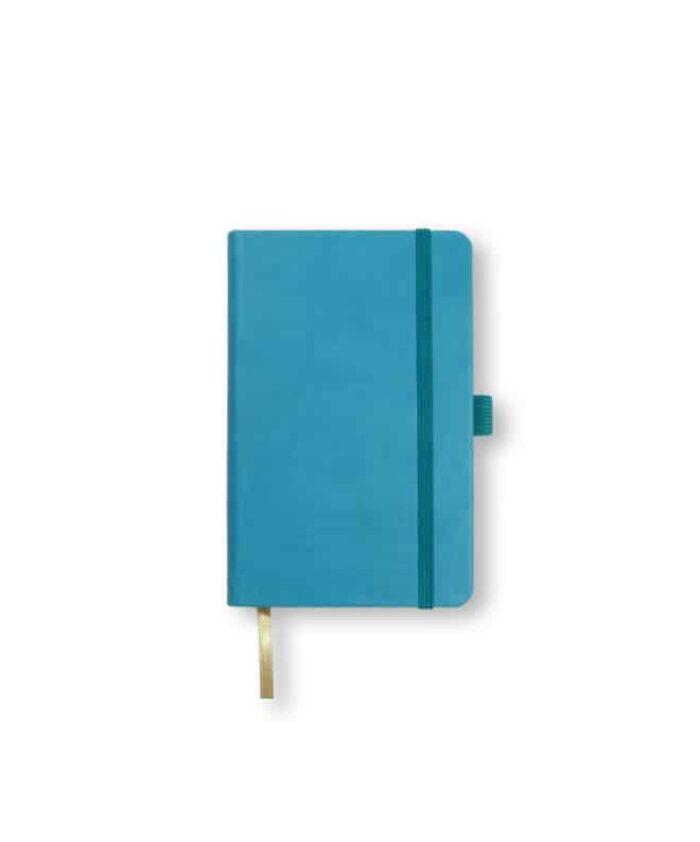 A6 Bright Blue Castelli Tucson hardback notebook