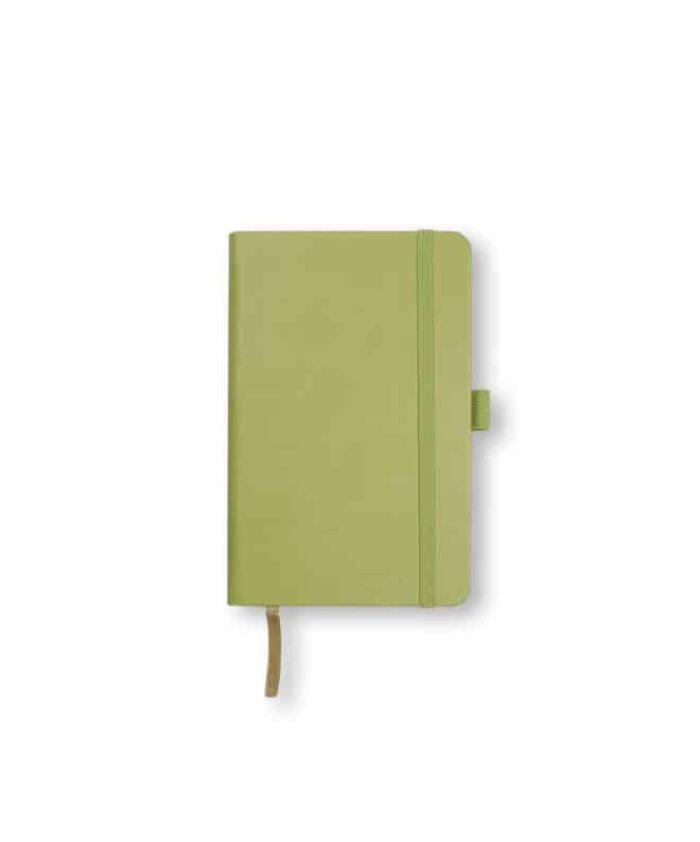 A6 Bright Green Castelli Tucson hardback notebook