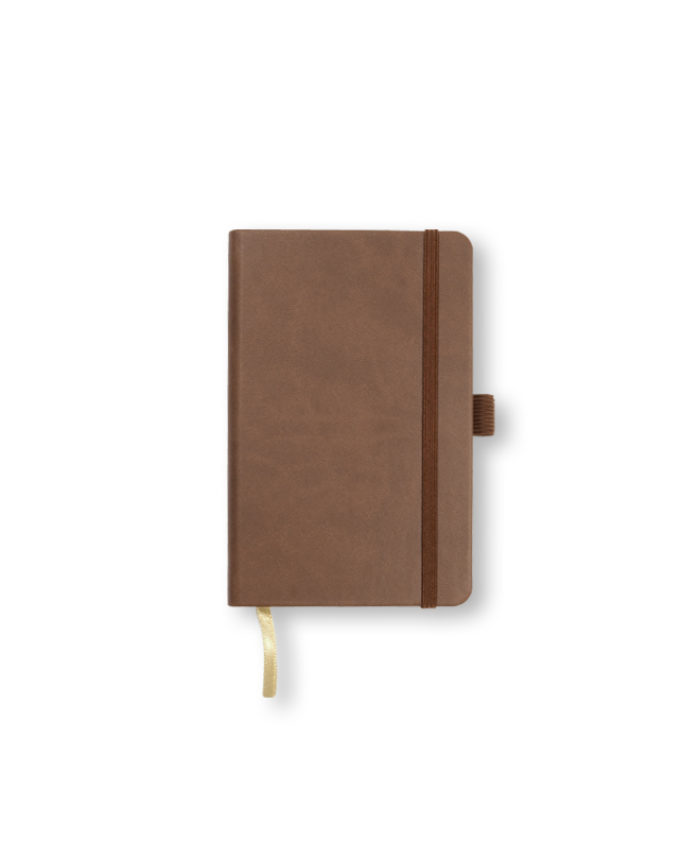 A6 Brown Castelli Tucson hardback notebook