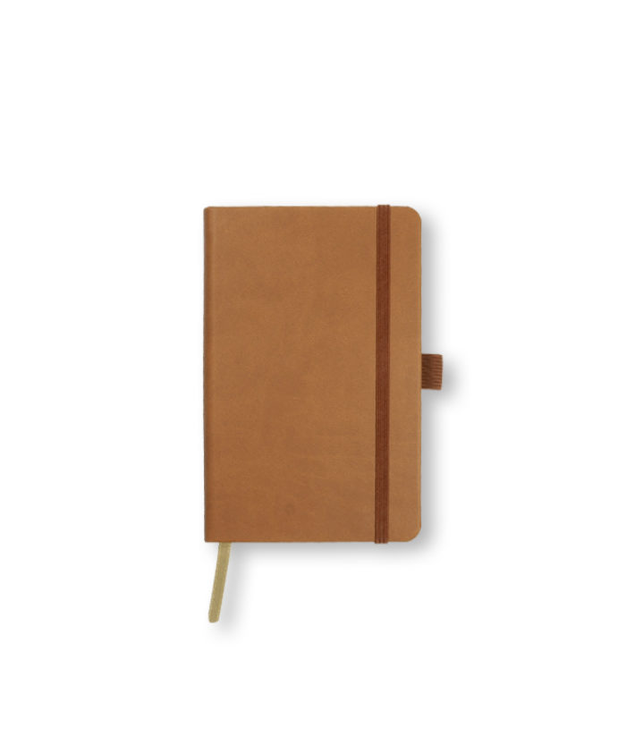 A6 Chestnut Castelli Tucson hardcover notebook