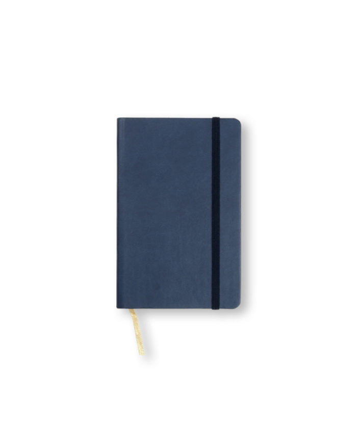 A6 China Blue Castelli Pocket Tucson flexicover notebook