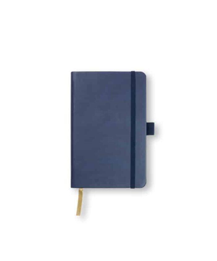 A6 China Blue Castelli Tucson hardback notebook