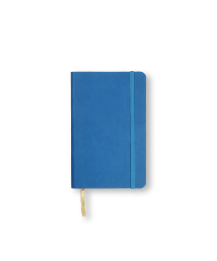 A6 French Blue Castelli Pocket Tucson flexicover notebook