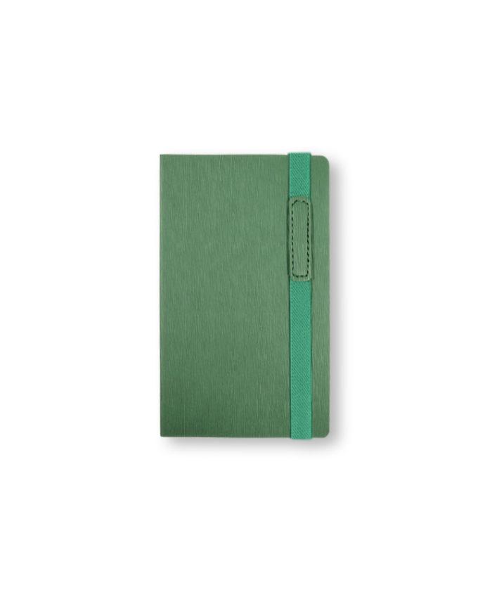 A6 Green Cambridge notebook