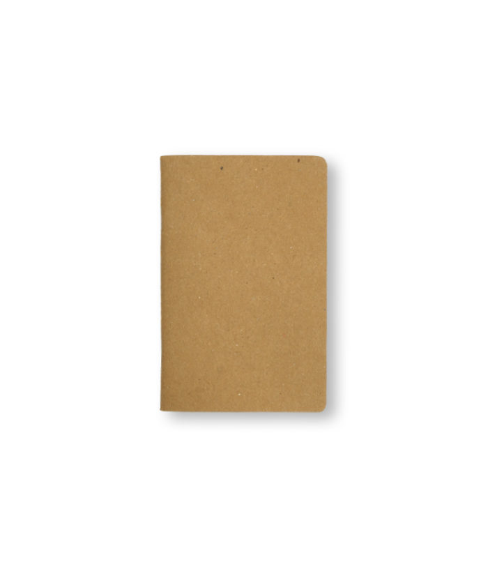 A6 Kraft notebook