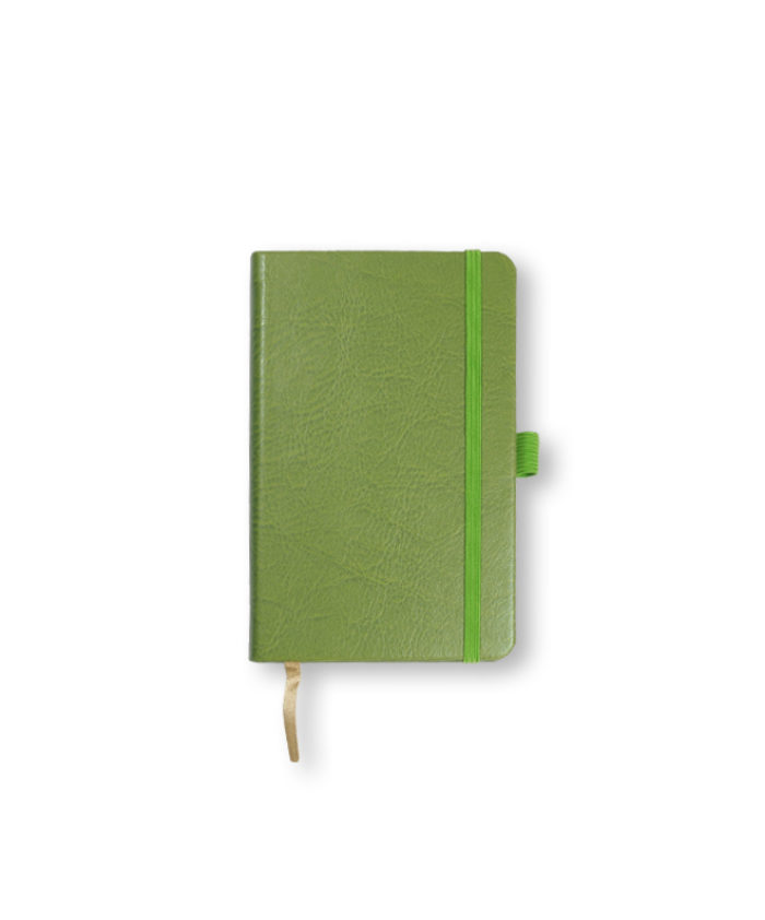 A6 Lime Green Castelli Sherwood pocket notebook