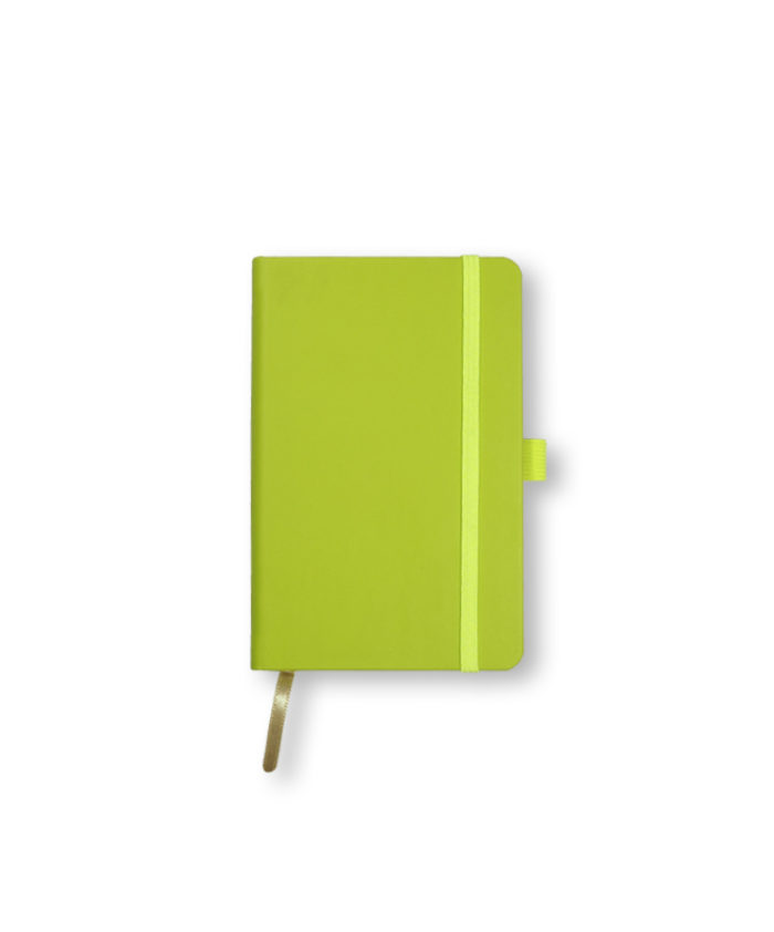 A6 Neon Green Castelli Tucson hardcover notebook