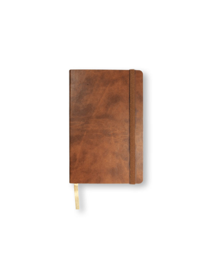 A6 Nut Castelli pocket Novara flexi cover notebook