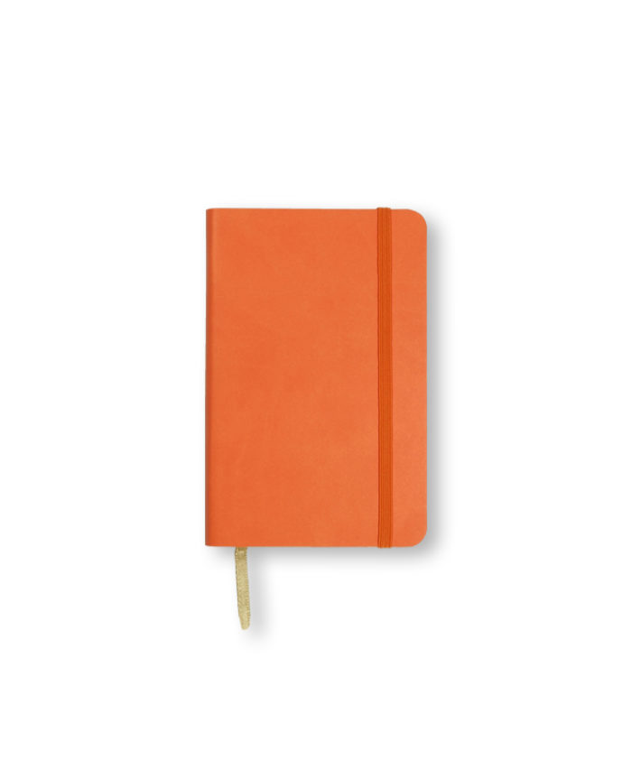 A6 Orange Castelli Pocket Tucson flexicover notebook