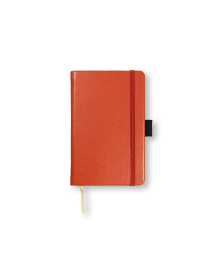 A6 Orange Castelli Sherwood pocket notebook