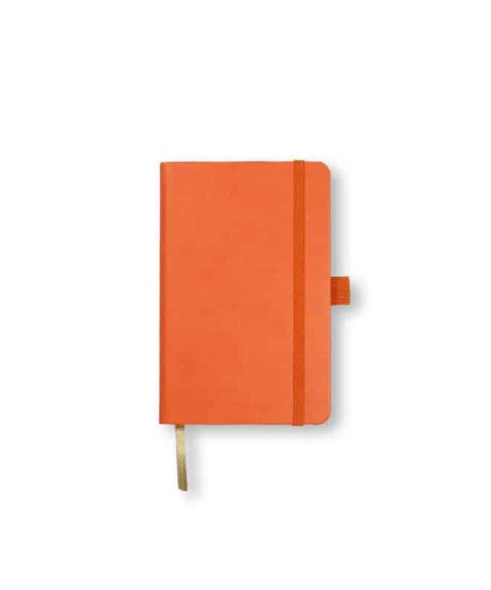 A6 Orange Castelli Tucson hardback notebook