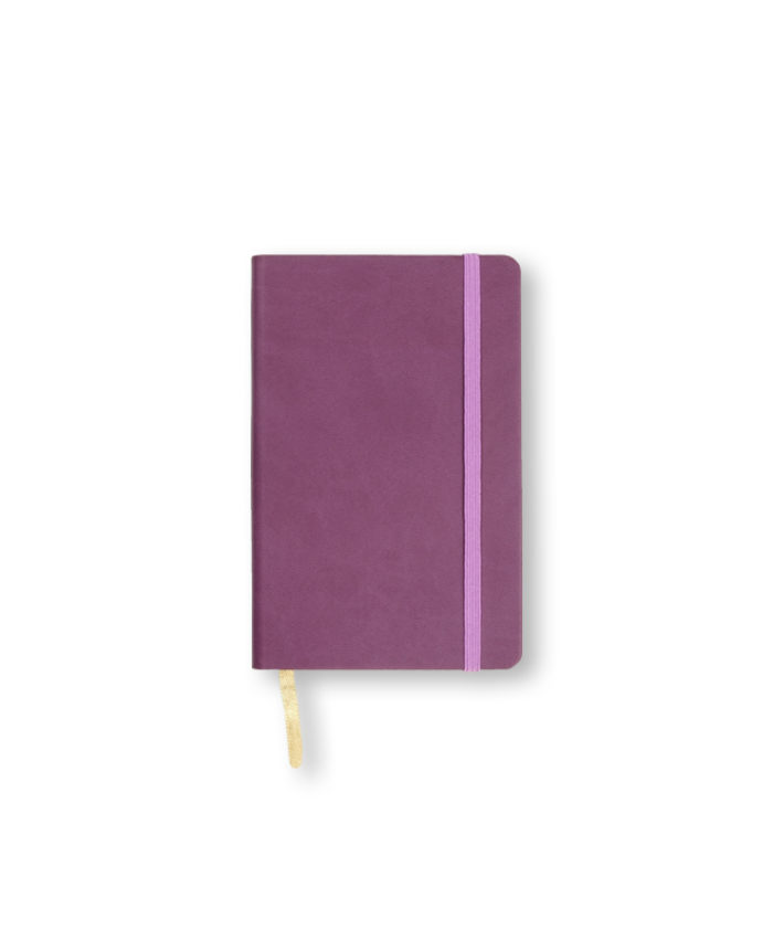 A6 Purple Castelli Pocket Tucson flexicover notebook