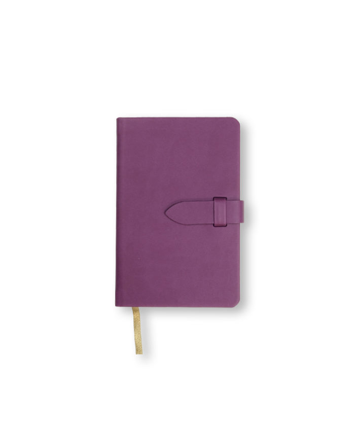 A6 Purple Castelli pocket Mirabeau notebook