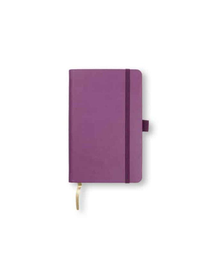 A6 Purple Castelli Tucson hardback notebook