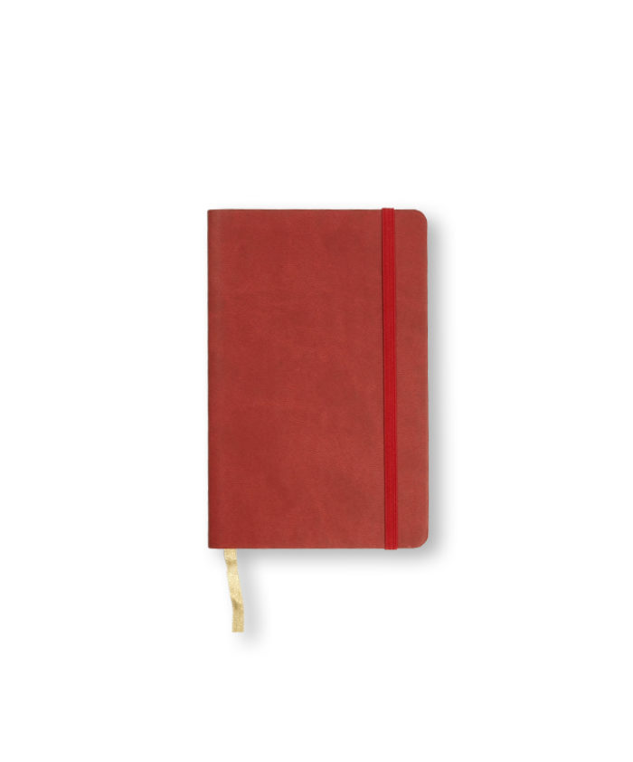 A6 Red Castelli Pocket Tucson flexicover notebook