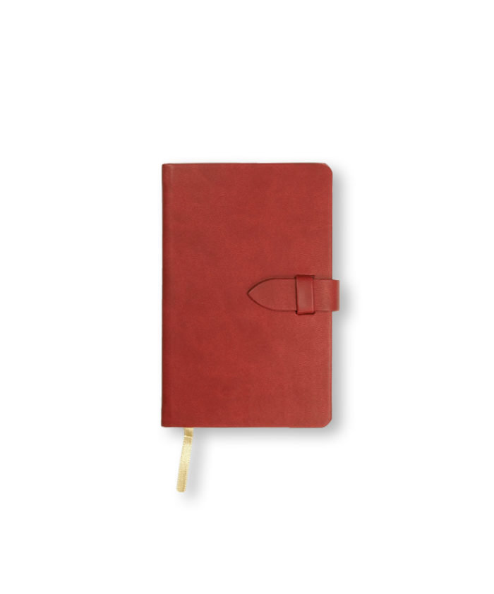 A6 Red Castelli pocket Mirabeau notebook