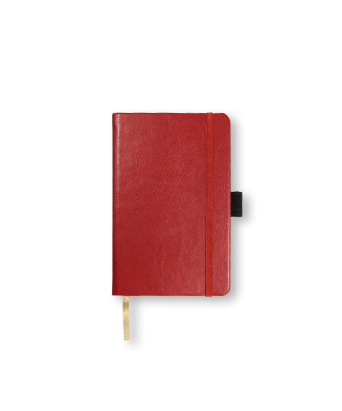 A6 Red Castelli Sherwood pocket notebook