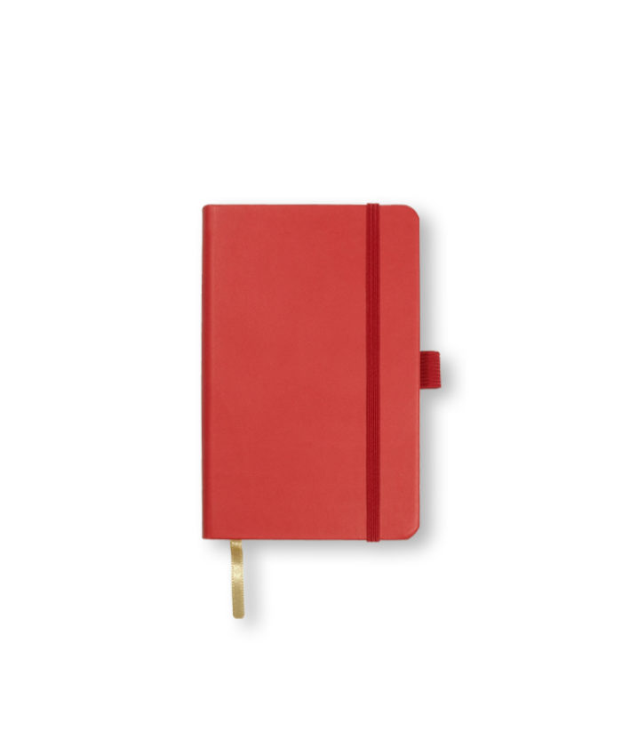 A6 Red Castelli Tucson hardback notebook