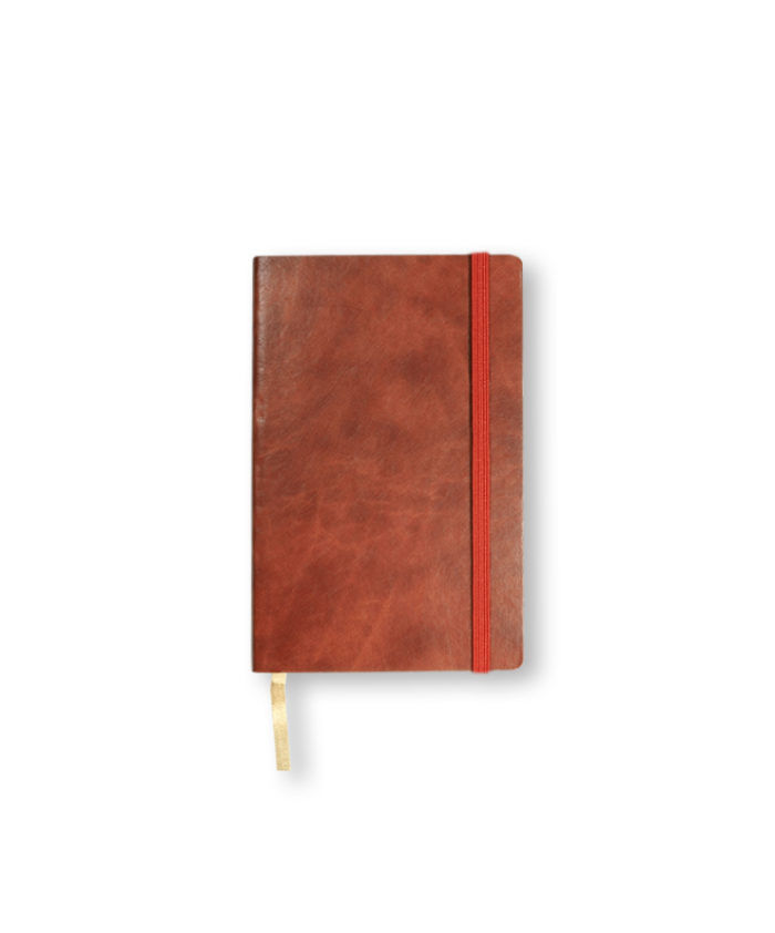 A6 Rust Castelli pocket Novara flexi cover notebook