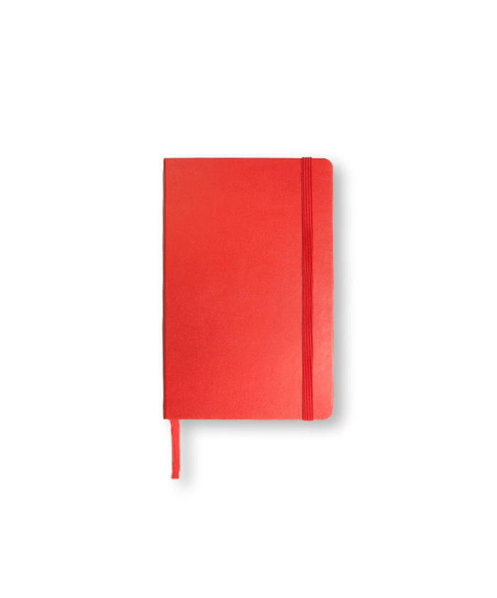 A6 Scarlet Red Classic pocket Moleskine