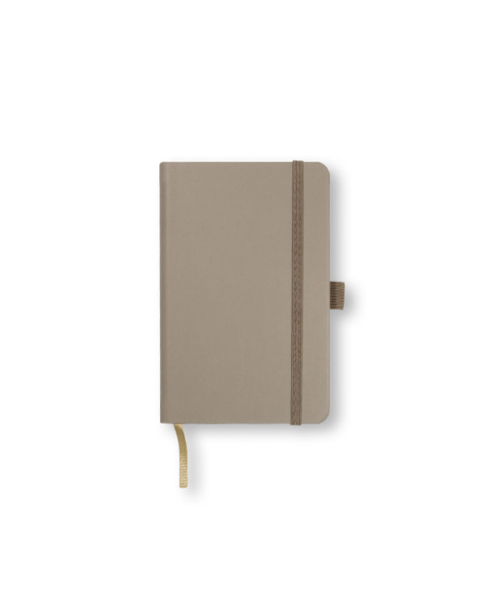 A6 Taupe Castelli Tucson hardcover notebook