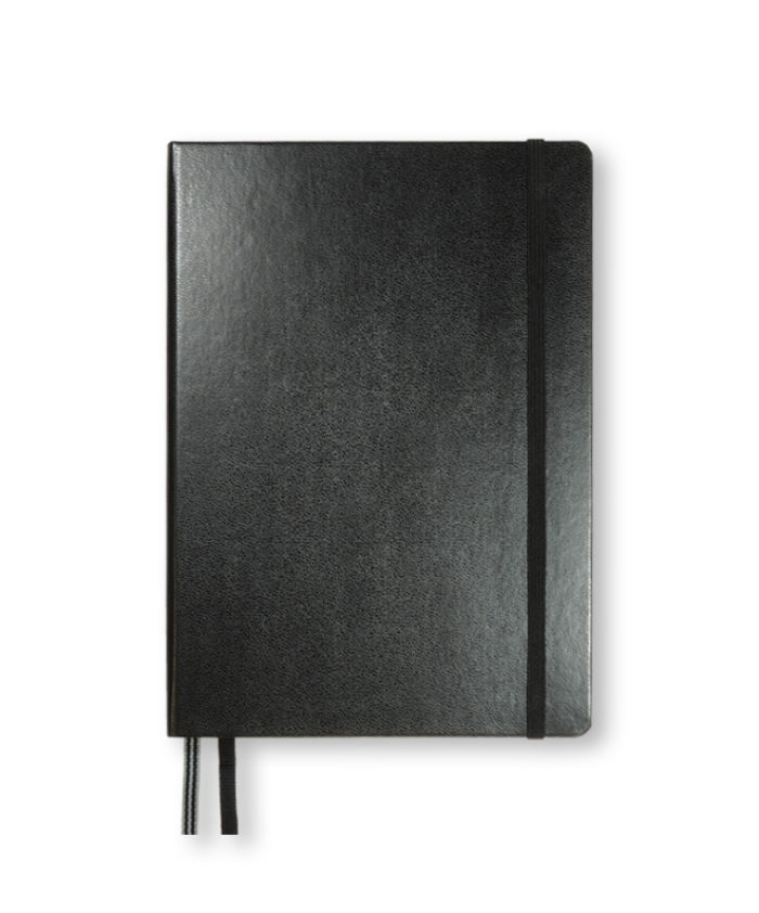 A5 Black LEUCHTTURM1917 weekly planner & notebook