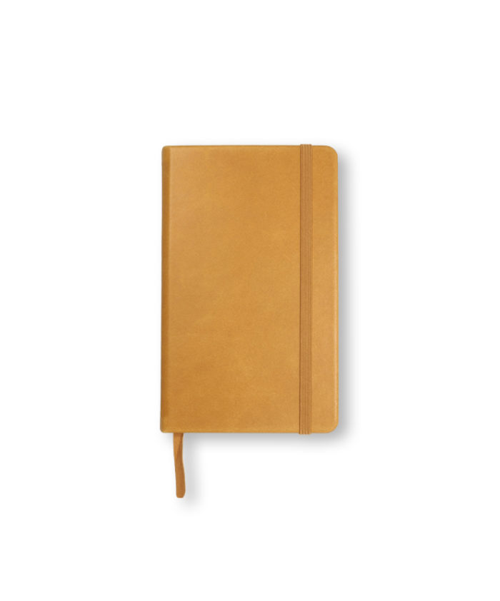 Pocket Congac Leather Leuchtturm1917 Hardback Notebook