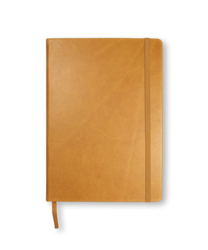A5 Cognac Leuchtturm1917 genuine leather notebook