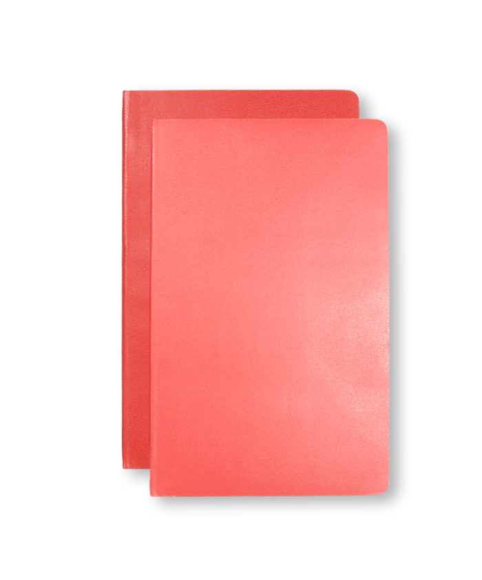 A5 Geranium and Scarlet Red Moleskine Pocket
