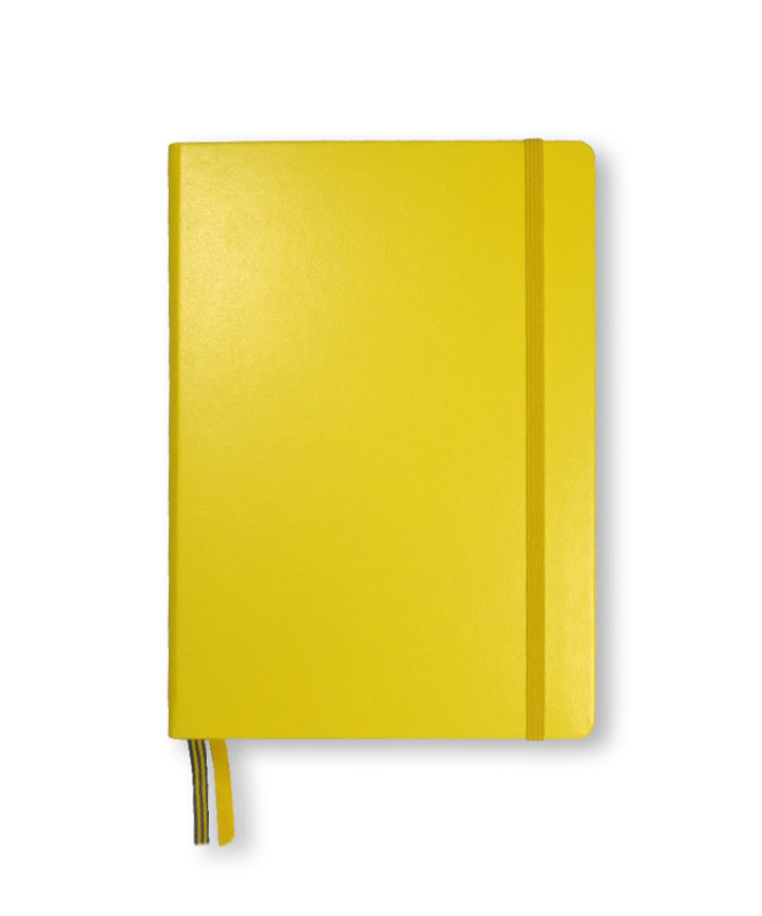 A5 Lemon Leuchtturm1917 hardback notebook