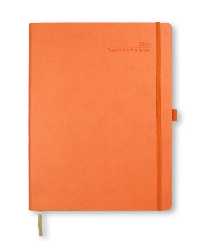 A4 Castelli Orange Weekly Diary