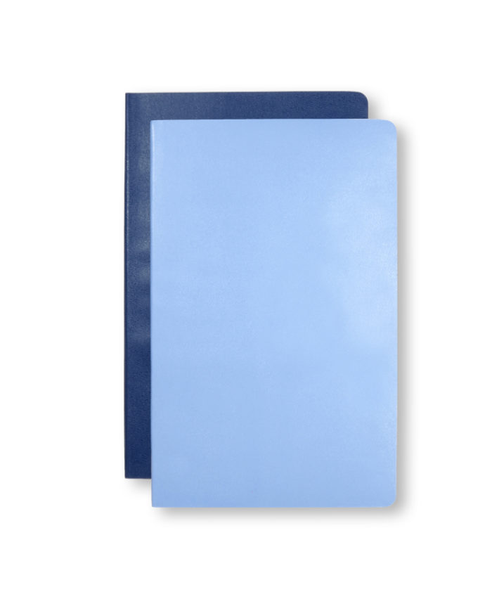 A5 Volant Royal and Powder Blue Moleskine Pocket