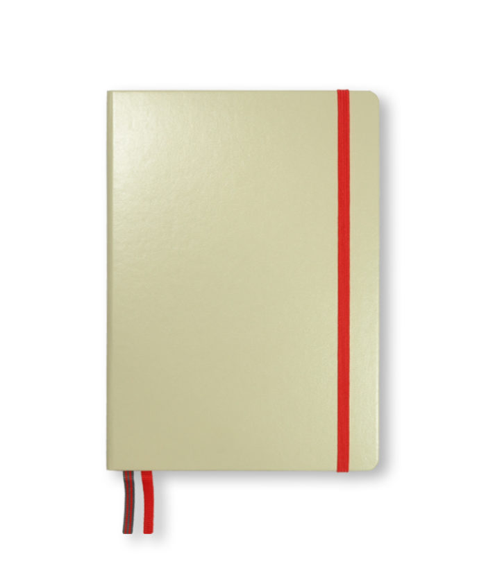 A5 Sand and Red Leuchtturm1917 bicolour notebook
