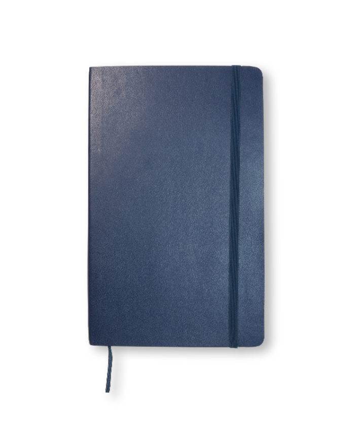 Moleskine Sapphire Blue softcover weekly notebook