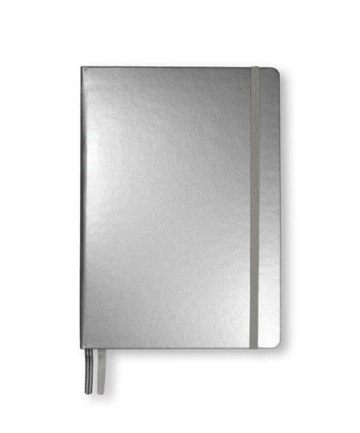 A5 Silver Leuchtturm1917 Metallic Notebook
