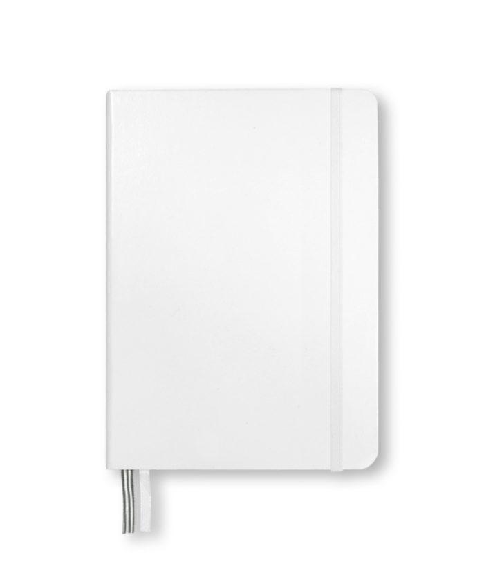 A5 White Leuchtturm1917 hardback notebook