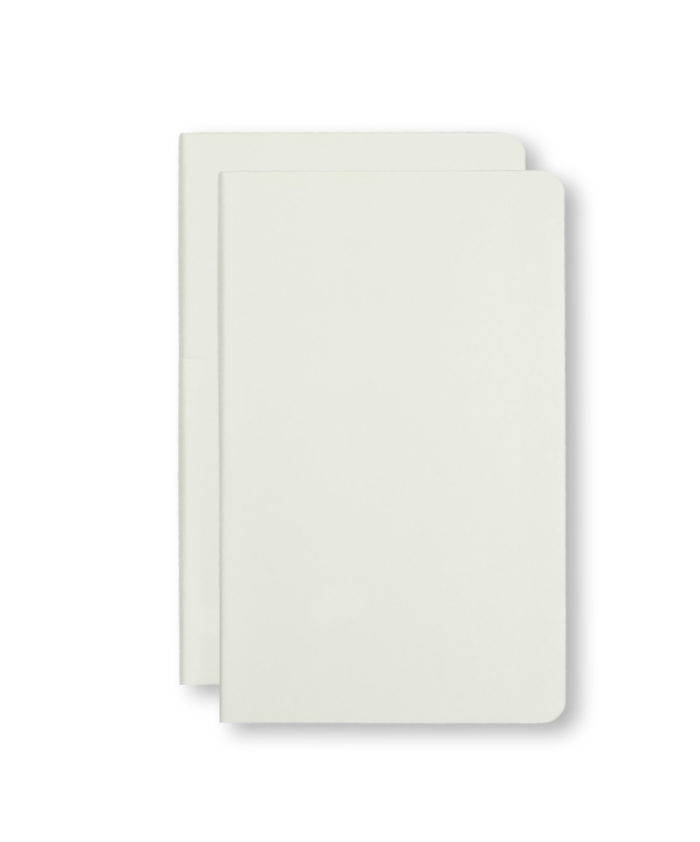 A5 White Moleskine Pocket Volant