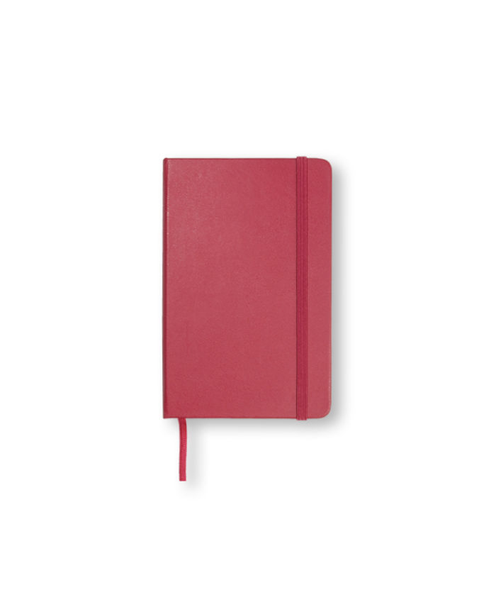 Pocket Berry Rose Moleskine Weekly Diary Planner Hardcover