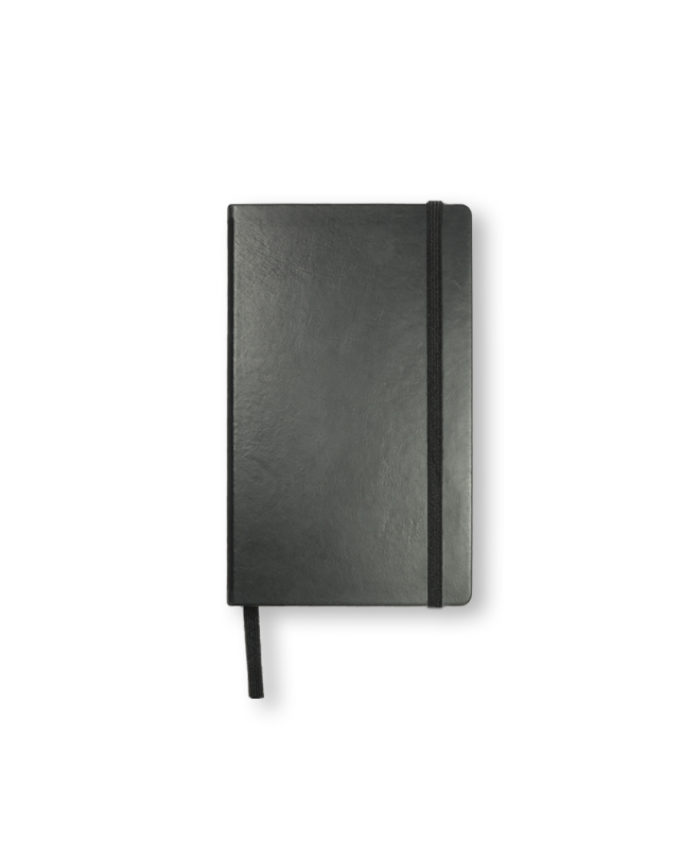 Pocket Black Leather Leuchtturm1917 Hardback Notebook