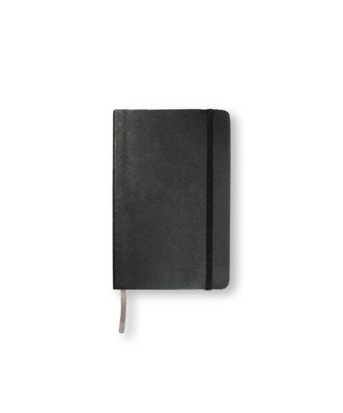 Pocket Black Moleskine softcover weekly diary