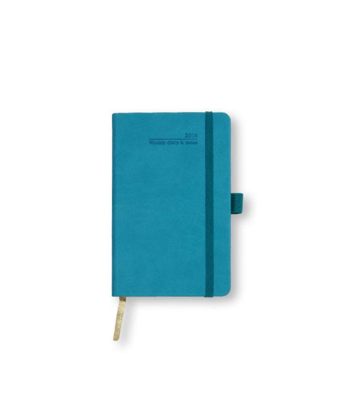 A6 Bright Blue Castelli Weekly Tucson Diary