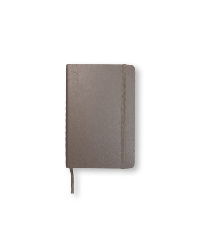 A6 Earth Brown Moleskine softcover notebook