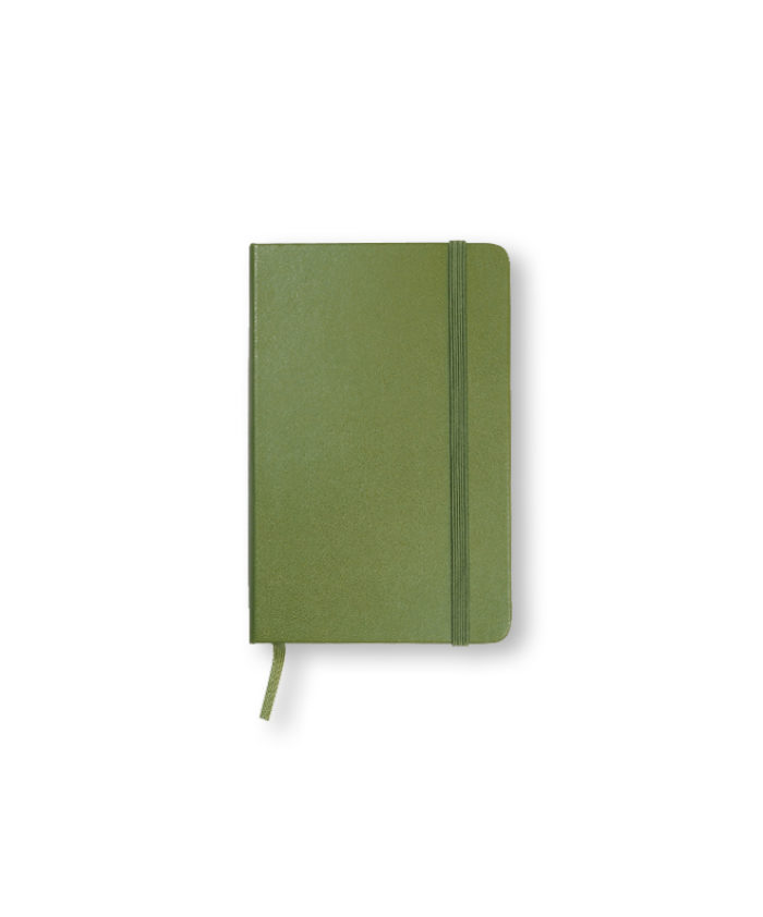 Pocket Elm Green Moleskine Weekly Diary Planner Hardcover