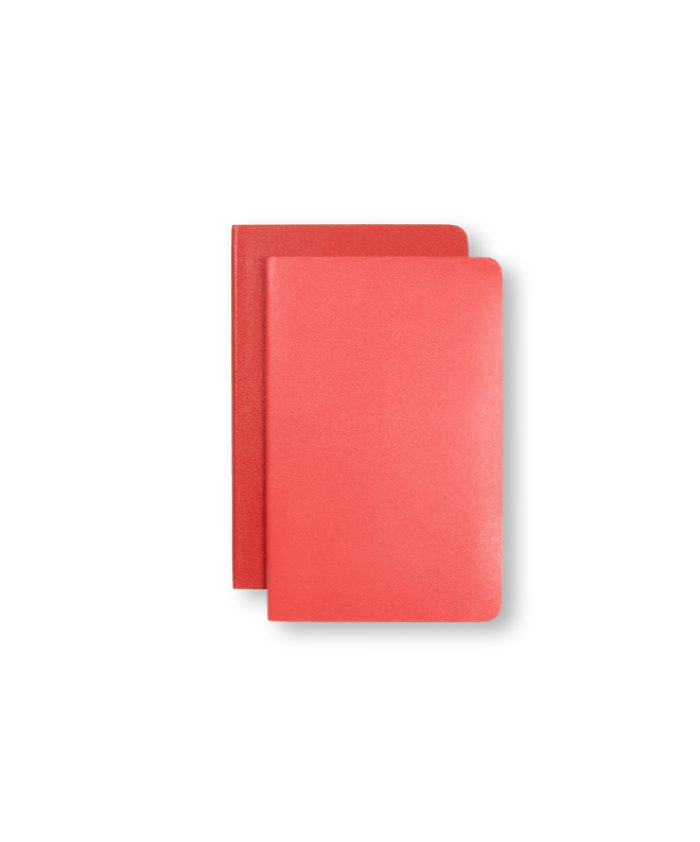 A6 Geranium and Scarlet Red Moleskine Pocket Volant