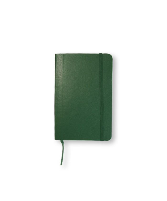 A6 Mrtyle Green Moleskine softcover notebook