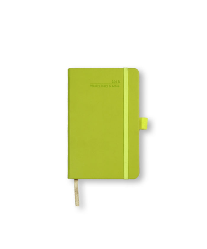 A6 Neon Green Castelli Weekly Tucson Diary