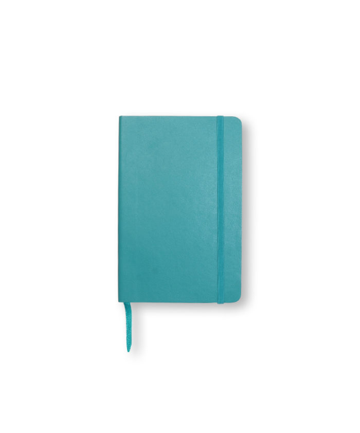 A6 Reef Blue Moleskine softcover notebook
