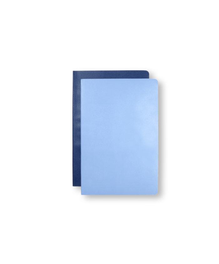 A6 Royal and Powder Blue Moleskine Pocket Volant